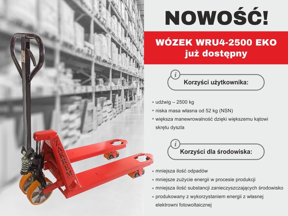 Wózek paletowy WRU4-2500